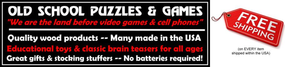 Old School Puzzles & Games Logo